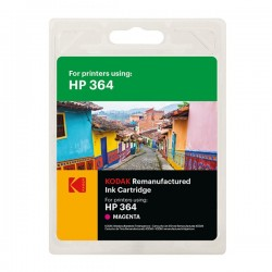 Cartus inkjet original Kodak HP364 Magenta, compatibil HP, 5ml, Premium Kodak