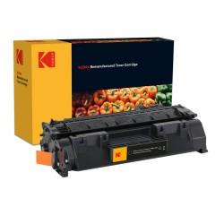 Carctus toner original Kodak, compatibil cu HP CF280A Black, 2.700 pagini, Premium Kodak