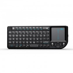mini tastatura bluetooth cu touch pad si laser