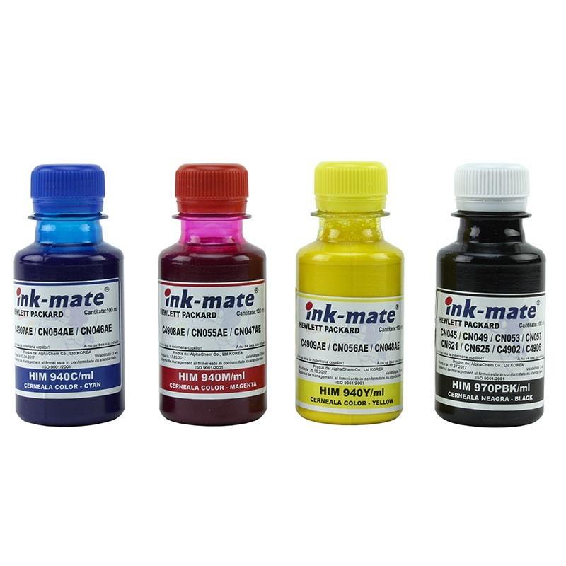 Cerneala pigment refill pentru HP940 4 culori