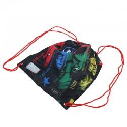 Sac de umar cu snur Avengers, 1 compartiment, 38cm, textil, Starpak