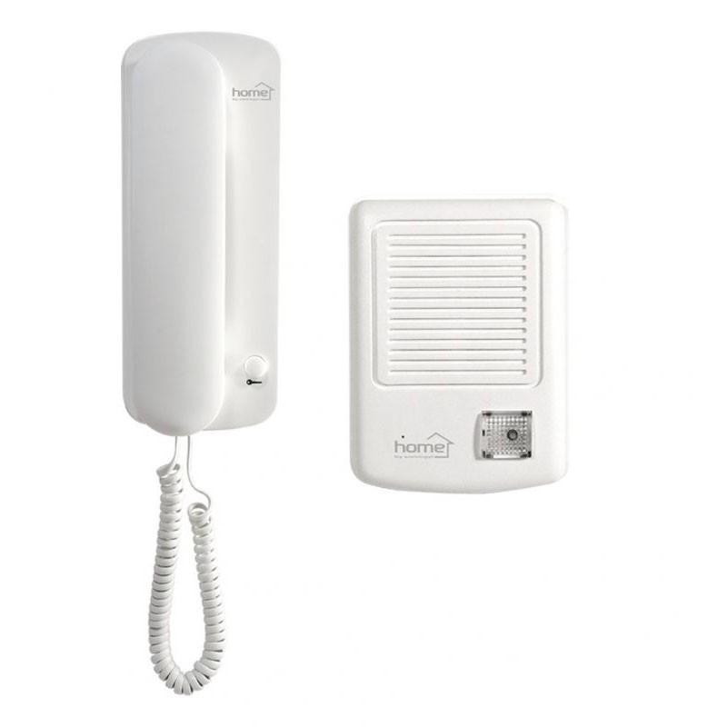 Set interfon poarta cu fir, codificare digitala, Home