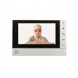 Unitate interioara videointerfon de poarta LCD 7 inch color, vizor, Home