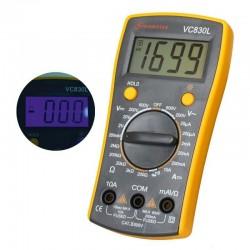 Multimetru digital, 6 functii, inregistrare valori masurate, Home