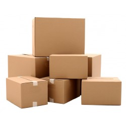 Cutii  de carton personalizate in 3 straturi natur tip C3