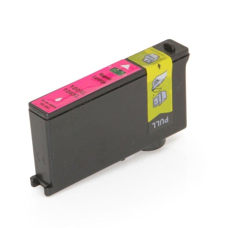 Cartus compatibil 14N1070E Lexmark, 13 ml, Magenta, 100XL, 108XL, Procart