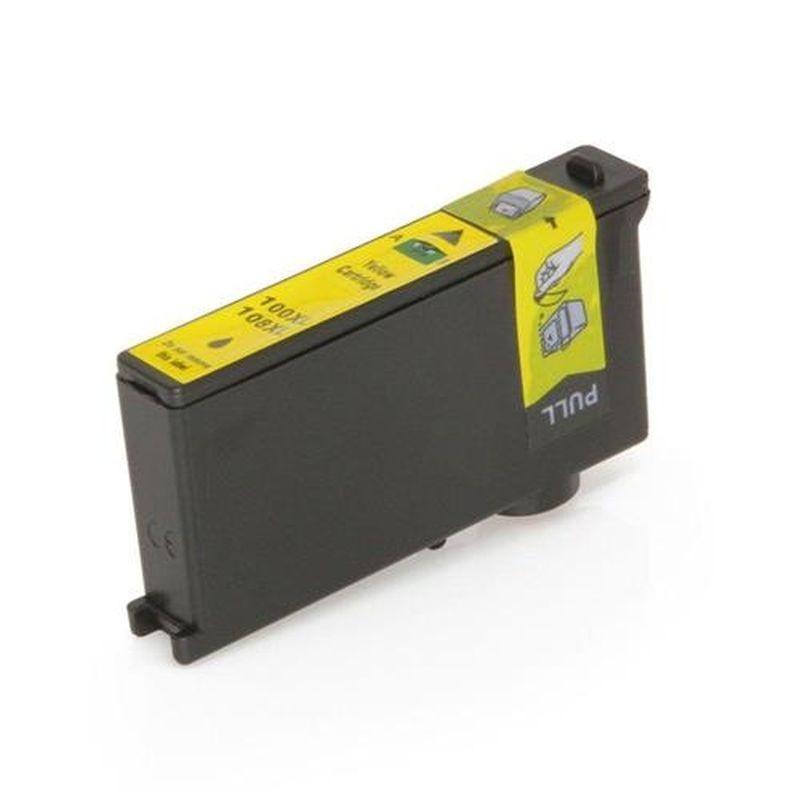 Cartus compatibil 14N1071E Lexmark, 13 ml, Yellow, 100XL, 108XL, Procart