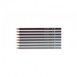 Creion negru duritate 1B 2B 3B 4B 5B 6B 8B 10B, Daco