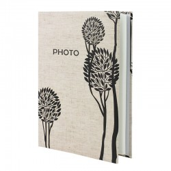 Album 200 poze, 10x15 cm, spatiu notes, Simple Liliac