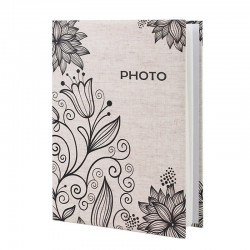 Album 200 fotografii, 10x15 cm, spatiu notite, Iily & Dandelion Flower