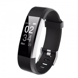 Bratara Smart Watch Fitness SE09S, 14 functii, display OLED, iOS si Android, SOVOGUE