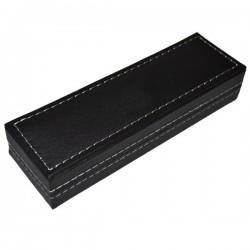 Etui din PVC pentru 1 instrument de scris, inscriptionabil