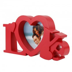 Rama foto LOVE, cu inima,  22 x 11cm