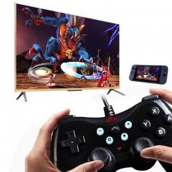 Gamepad cu USB pentru Nintendo, motor de control dublu, 6 axe de modificare a miscarii, Rii