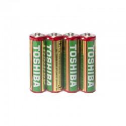 Set 4 baterii 1.5V AA R6, Toshiba