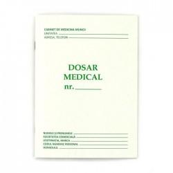 Dosar medical A5, 8 file, imprimare fata verso, orientare portret