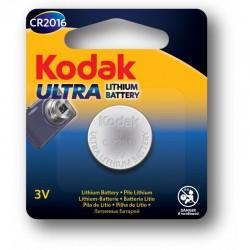 Baterie lithium CR 2016, 3V, Kodak Ultra