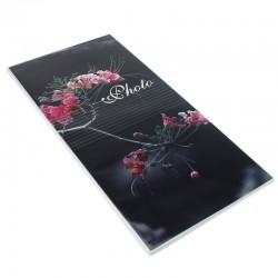 Album Photo Flowers, 96 fotografii 10x15 cm, buzunar slip-in, 16 file