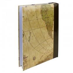 Album Maps Vintage, 300 fotografii 10x15cm, slip-in, spatiu note, maro