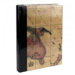 Album Harta politica, 300 fotografii 10x15cm, slip-in, spatiu note, negru