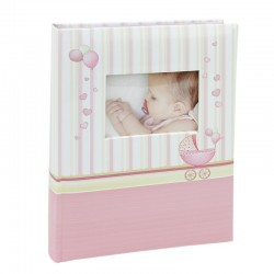 Album personalizabil, Baby Born, spatiu notite, 10x15 cm, 100 poze