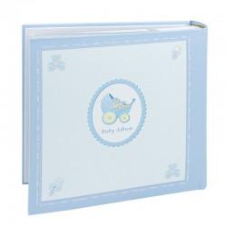 Album personalizabil Baby, 200 foto 10x15 cm, amprente bebelus, cutie