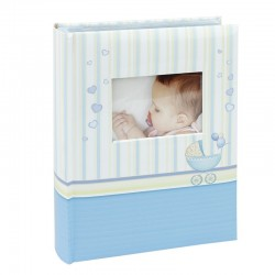 Album bebelusi, personalizabil, 10x15 cm, capacitate 300 poze, memo