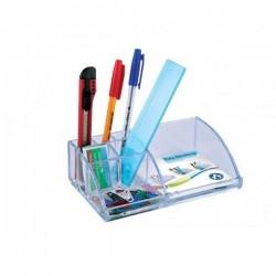 Suport birou pentru instrumente de scris, sapte compartimente, Ark