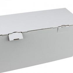 Cutie cartuse toner, 350 x 140 x 180 mm, carton albit, microondula E