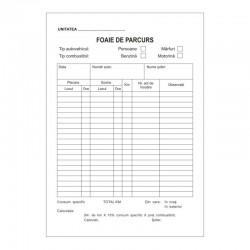 Foaie parcurs neinseriata, format A5, bloc 100 file