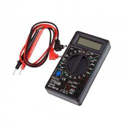 Multimetru digital profesional, LCD, 9V, 19 scale masura, negru