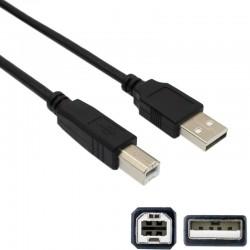 Cablu imprimanta USB 2.0tip A-B, lungime 1.6 m