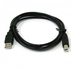 Cablu imprimanta USB 2.0 Hi-Speed A-B, 28AWG 24AWG, lungime 1.8 m