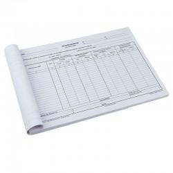 Nota de receptie format A4 RS, 100 file/bloc
