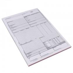 Cmr international, format A4, 3 exemplare color, tipar fata