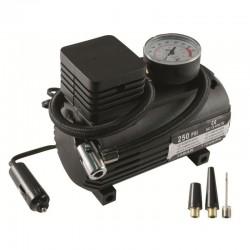 Compresor aer auto, presiune 12 Bar, tensiune 12V, 3 adaptoare ventil