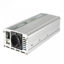 Convertor tensiune, 12V DC 220V AC, USB, protectie supraincalzire, Sal