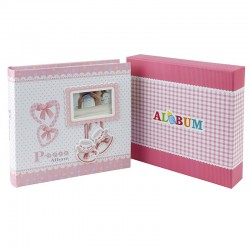 Album Baby Collection personalizabil, 200 poze format 10x15 cm, cutie