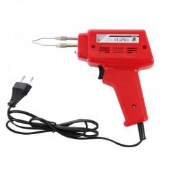 Pistol de lipit cu fludor, pentru electronisti, 100 W, 230 V, rosu, Home