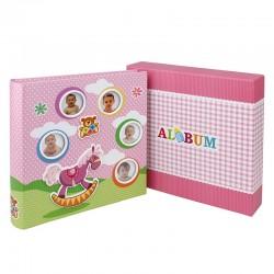 Album Kids Toys, personalizabil, 200 poze 10x15 cm, slip-in, notite