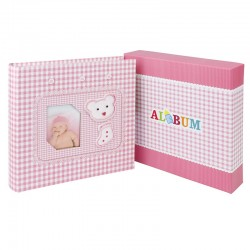 Album Little Bear, personalizabil, 200 poze 10x15, slip-in, spatiu notite