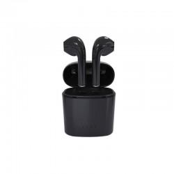 Casti stereo Bluetooth, in-ear, microfon, Android iOS, fara fir, dock incarcare