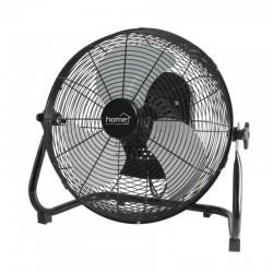 Ventilator de podea, 50W, functie oscilatie, 3 viteze, palete metalice, Home