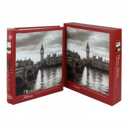 Album London Clock, 200 fotografii 10x15 cm, slip-in, momo, cutie