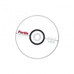 DVD-R capacitate 4.7GB/120 min, 16x, set 50 buc, Fortis Technology