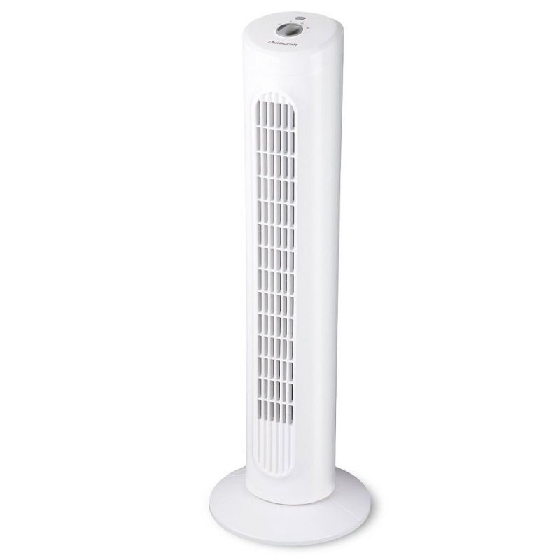 Ventilator tip stalp, 40W, 80 cm, 3 viteze, comutator rotativ, alb