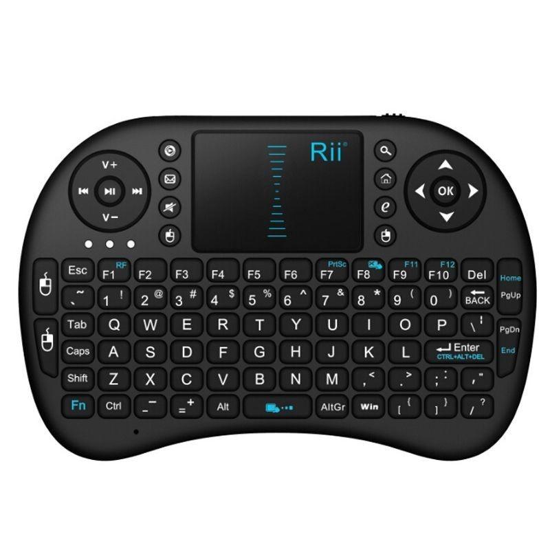 Mini tastatura wireless sau bluetooth cu touchpad compatibila Smart TV