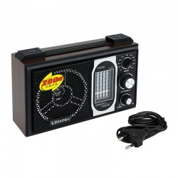 Radio portabil boxa, 12 benzi FM/MW/SW1-9, mufa jack 3.5, Leotec