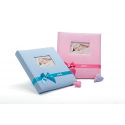 Album foto Baby's Kiss, coperta personalizabila, fotografii autoadezive, 29X32 cm