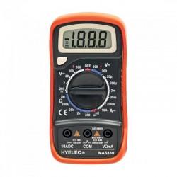 Multimetru digital, 4 functii, 9V, ecran LCD, cablu de masurare, Home